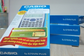 "Đập hộp ""Smart Calculator"" Casio fx-570VN PLUS"